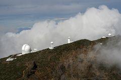 Teleskope in 2400 m Höhe