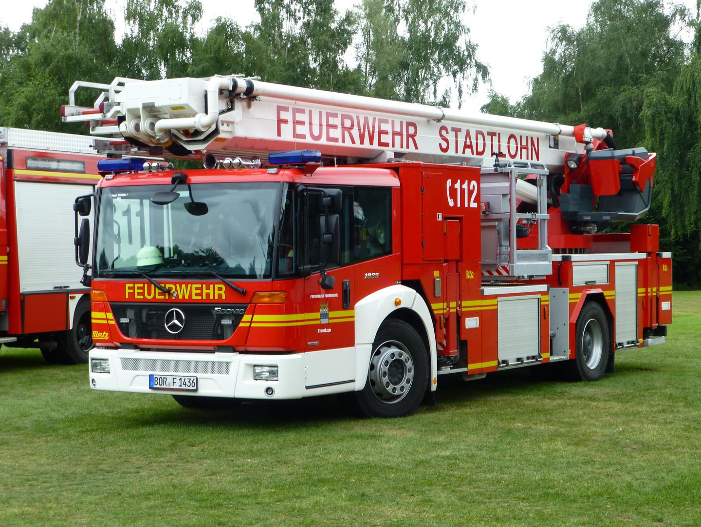 Teleskopmast TM 32 der Feuerwehr Stadtlohn / Kreis Borken