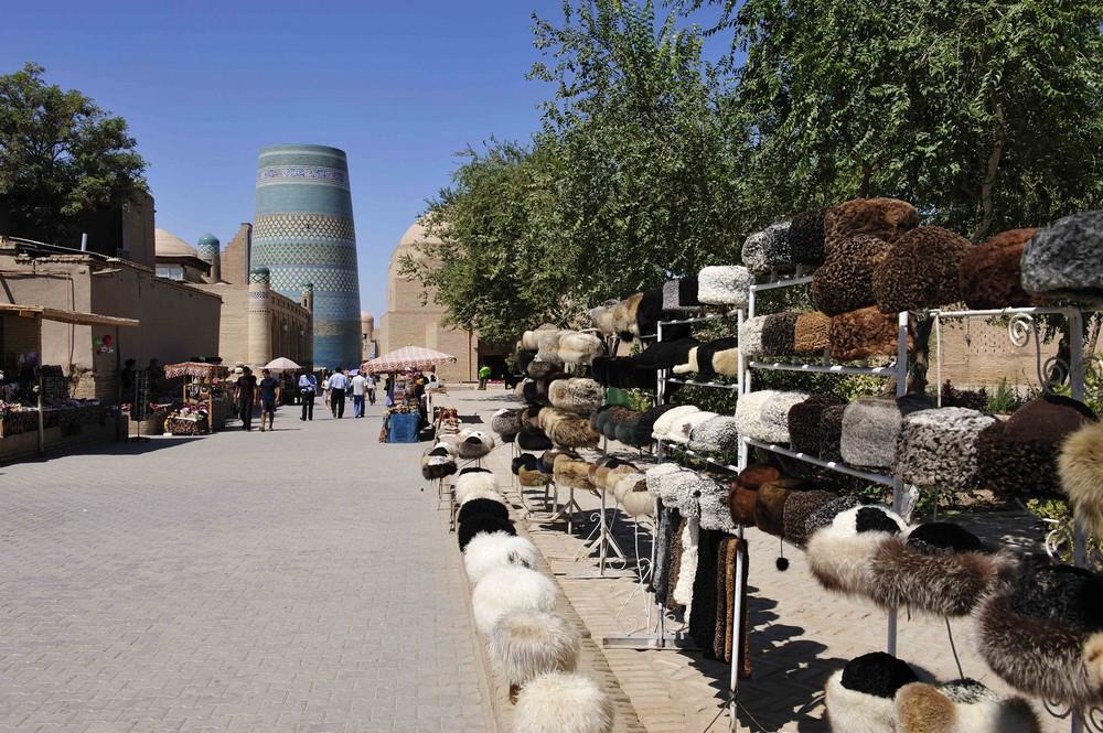 Telpeks - wie diese Schafswollmützen genannt werden - sind der Stolz...
