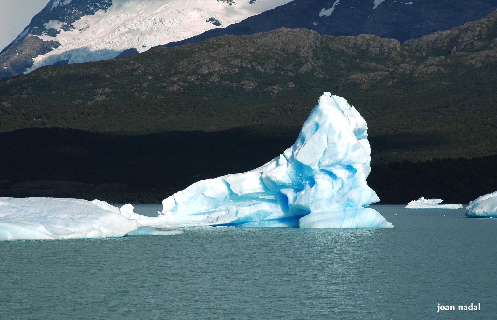 Témpanos de hielo, Argentina