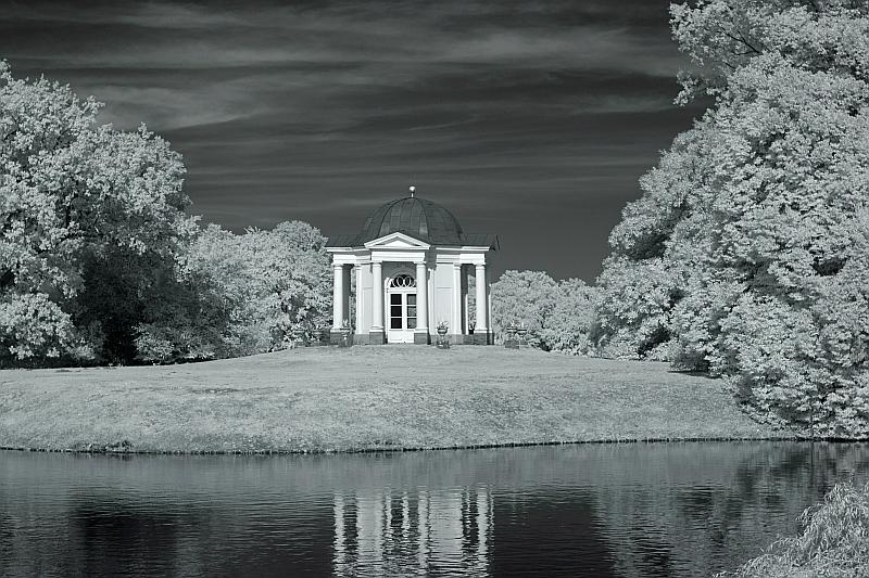 Tempel auf der Schwaneninsel