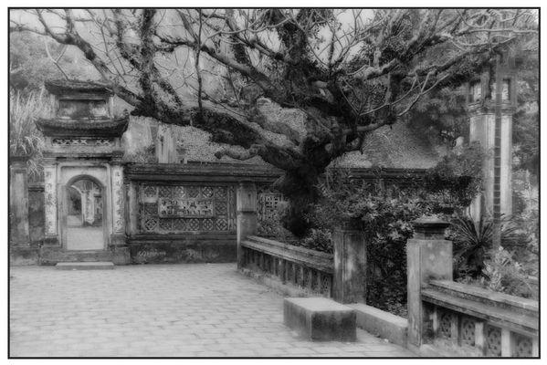 Tempel bei Hanoi - Vietnam