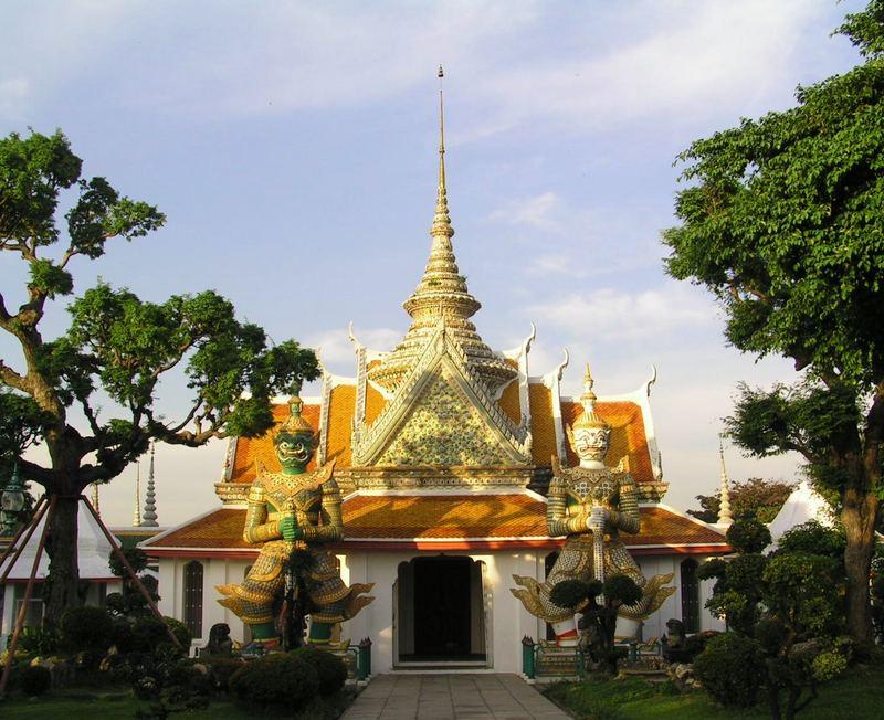 Tempel beim Wat Arun