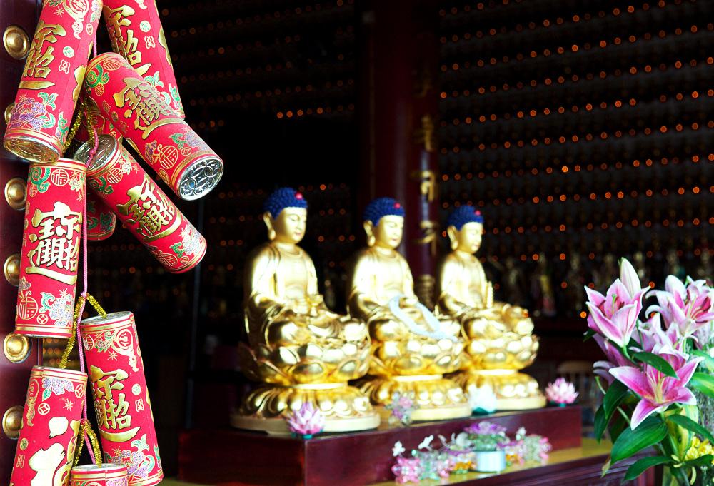 Tempel der 10000 Buddhas