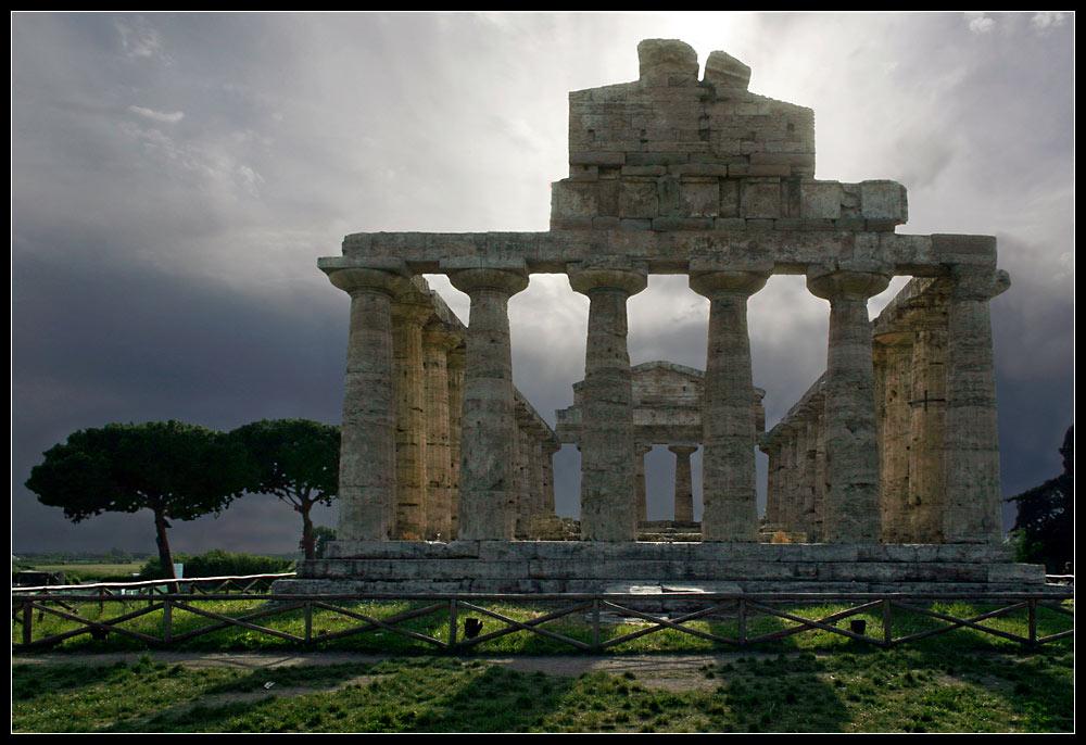 Tempel der Athene, genannt Tempel der Ceres