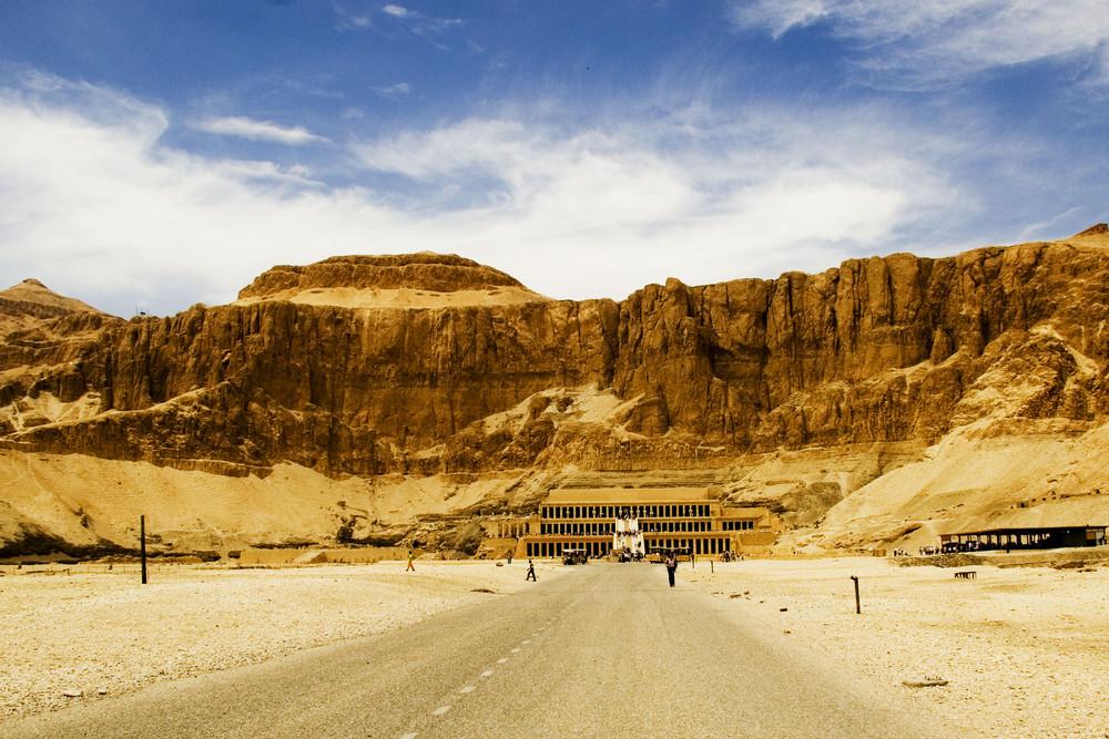 Tempel der Pharaonin Hatschepsut