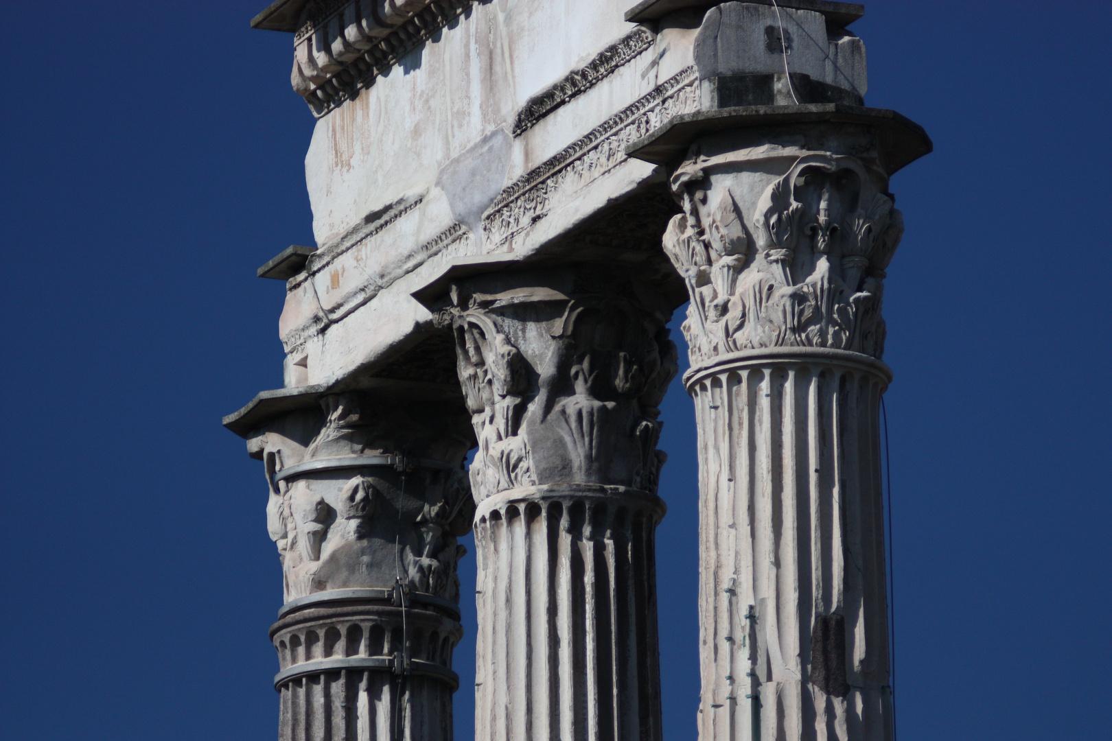 Tempel des Castor und Pollux