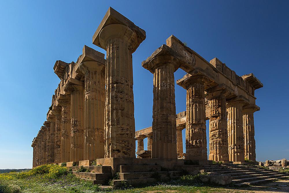 Tempel E in Selinut