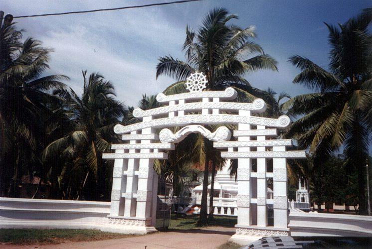 Tempel im Paradies