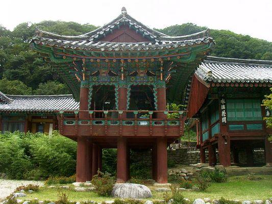 Tempel im Seoraksan-Gebirge