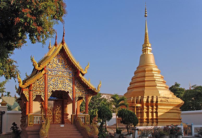 Tempel in Chang Mai