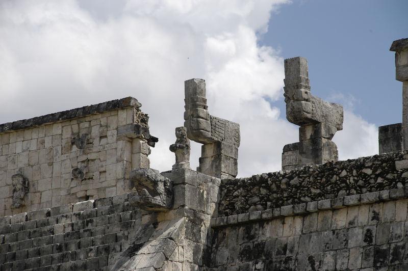 Tempel in Chitchen Itza