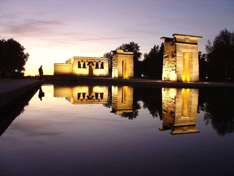 Tempel in Madrid