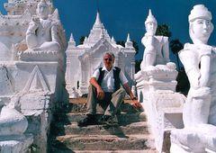 Tempel in Mingun bei Mandalay