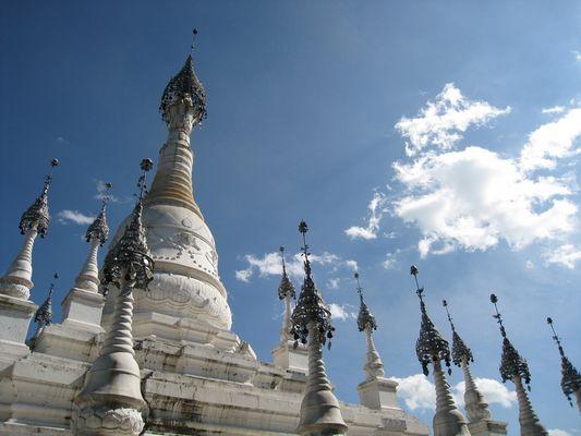 Tempel in Park in Kunming / Yunnan / China