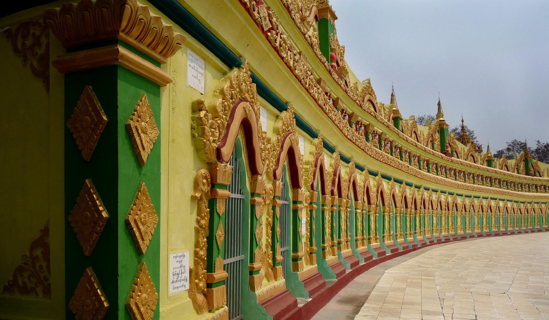 Tempel in Perspektive