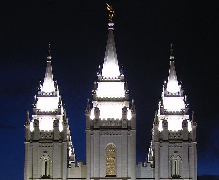 Tempel in Salt Lake City