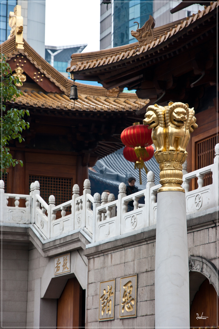 Tempel in Shanghai