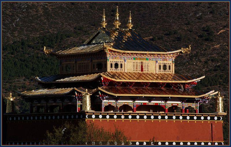 Tempel in Shangrila