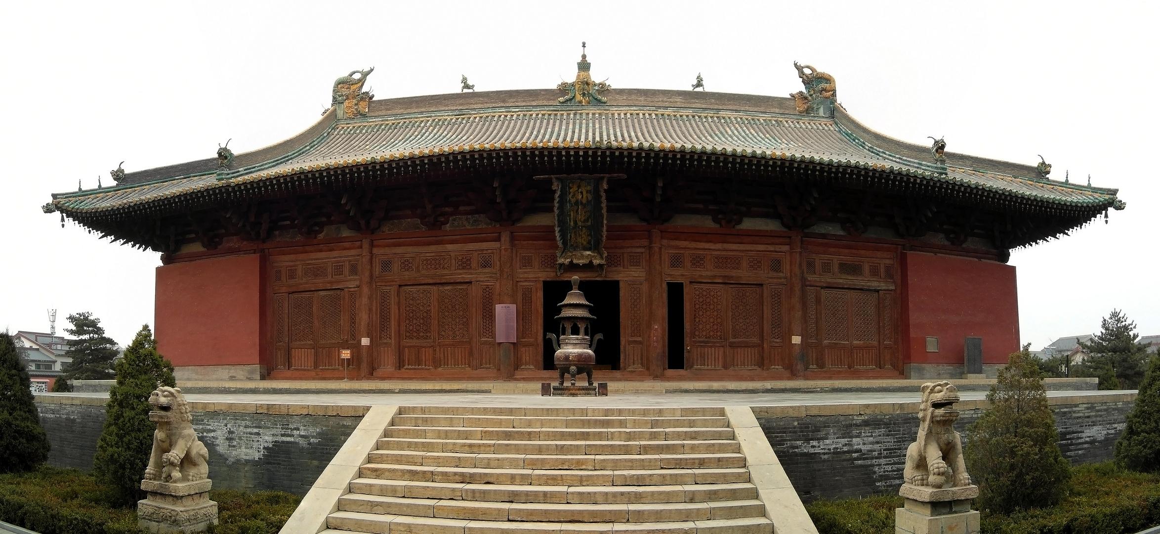 Tempel in Shuozhou