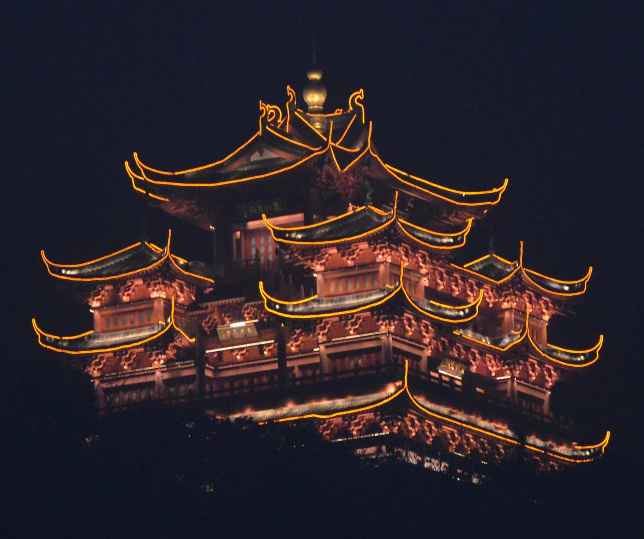 Tempel in Wushan