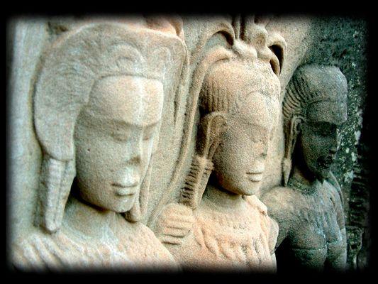 Tempel-Relief