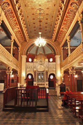 Tempel Synagoge in Krakau ... innen ...