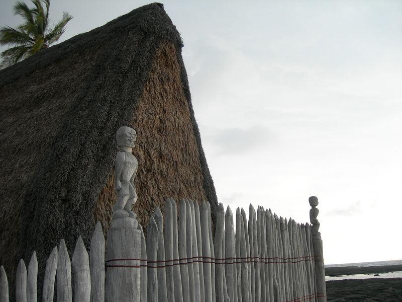 Tempelanlage auf Hawaii