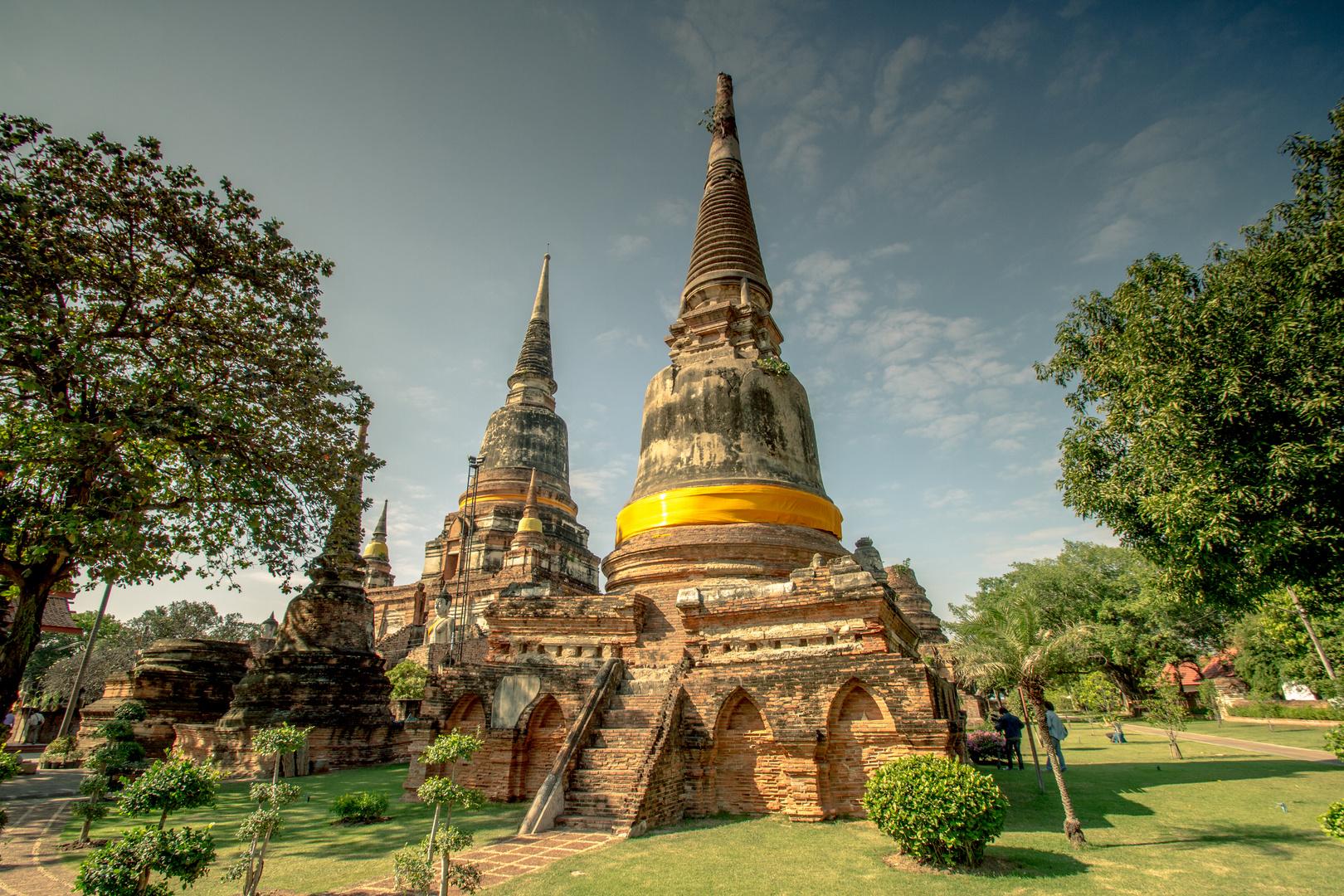 Tempelanlagen in Ayutthaya