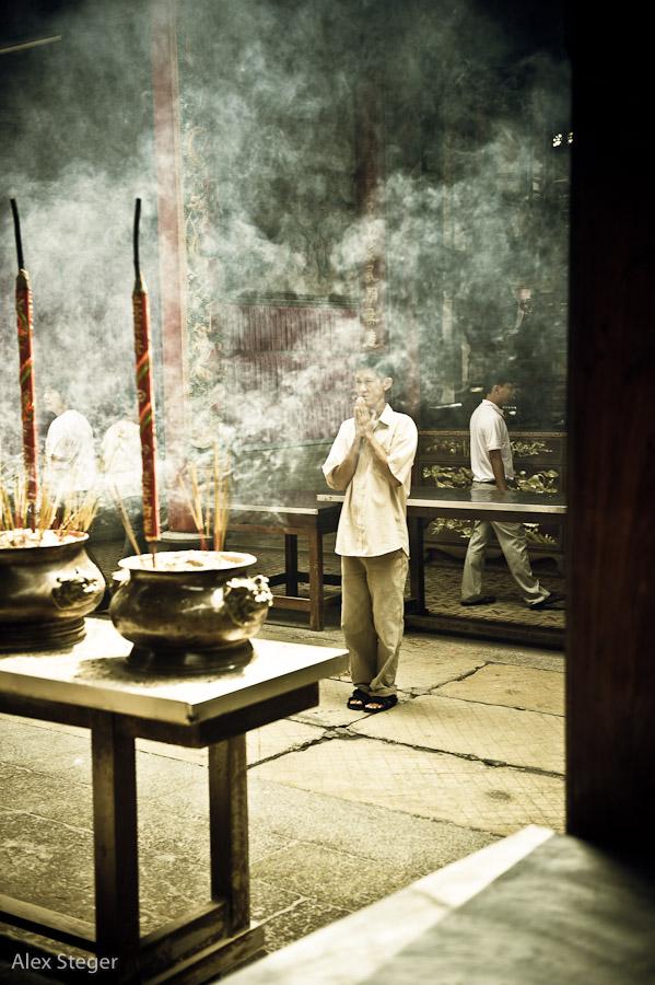 Tempelbesuch in Ho Chi Minh City