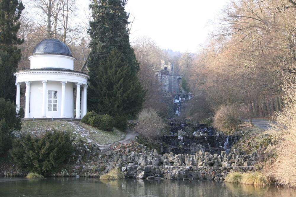 Tempelchen und Aquadukt 2