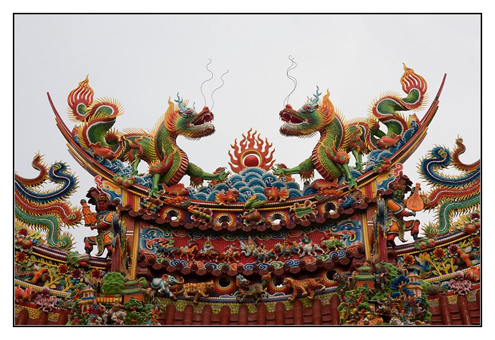 Tempeldach-Kunst
