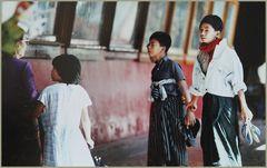 Tempelhalle in Birma