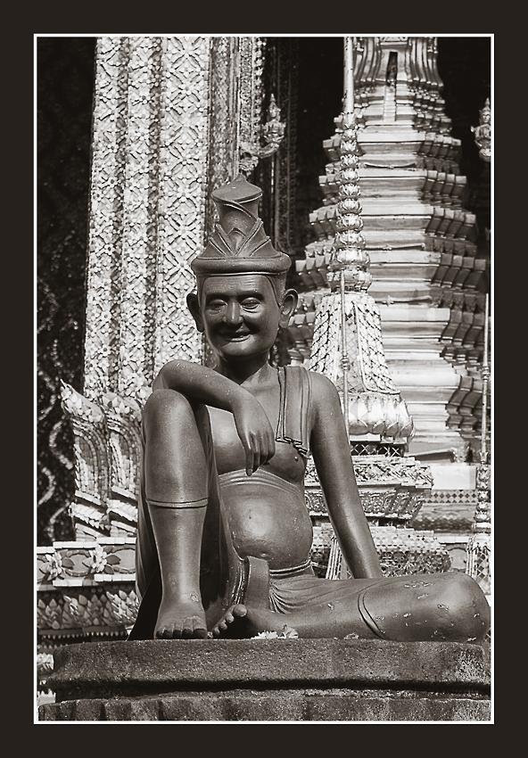 Tempelhüter am Wat Phra Keo
