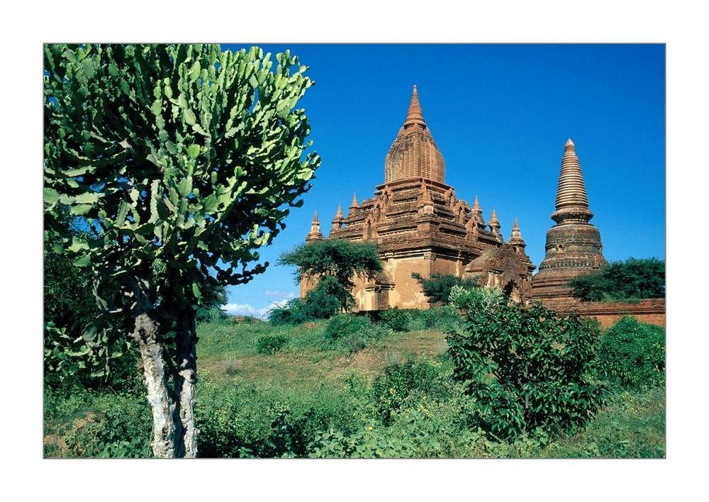 Tempelruine in Bagan