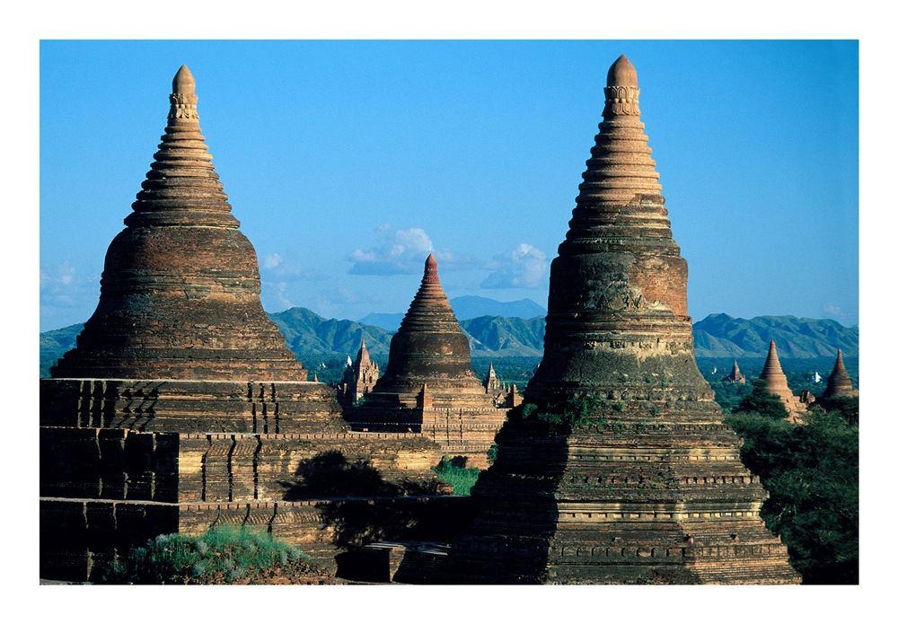 Tempelruinen von Bagan
