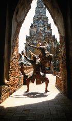 Tempeltanz in Thailand