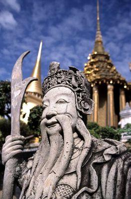 Tempelwächter im Wat Phra Keo, Bangkok