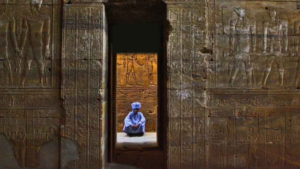 Tempelwächter in Abydos