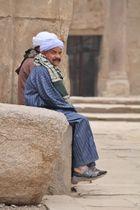 Tempelwächter in Luxor