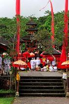 Tempelzeremonie auf Bali