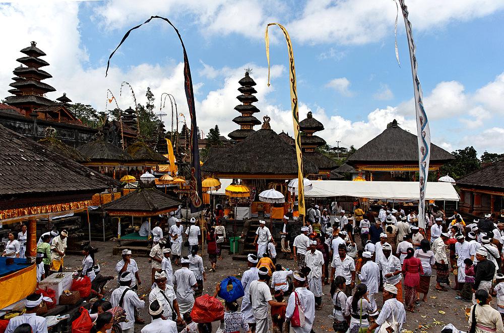 Tempelzeremonie in Bali
