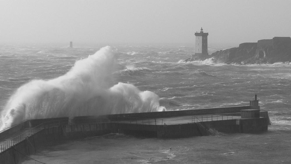 tempète au Conquet