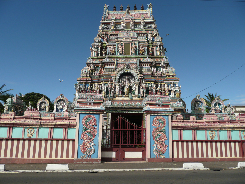 Temple à la Réunion