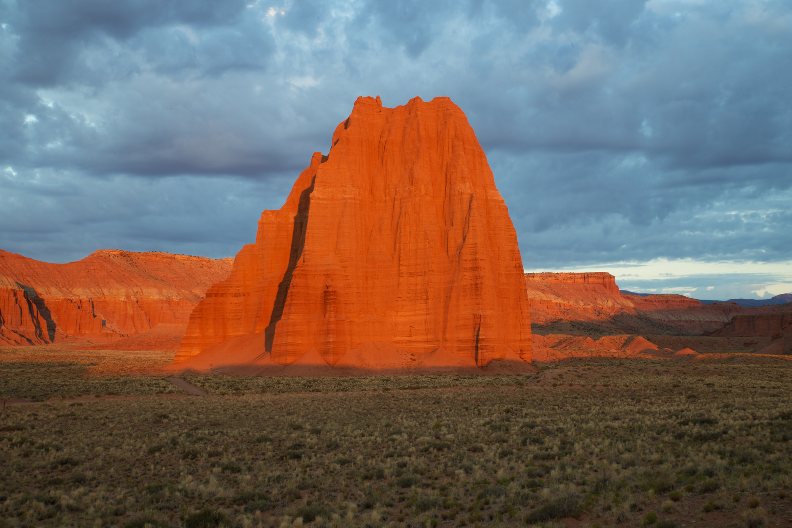 Temple of the Moon, Lower Cathedral Valley, Capitol Reef National Park, USA