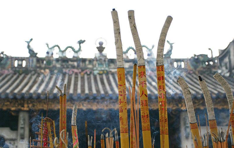 Temple-pray