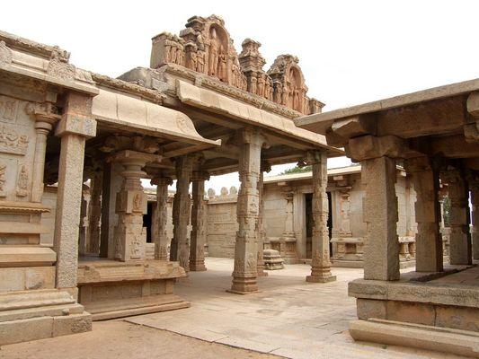 Temple royal à Hampi