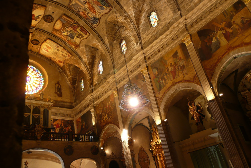 Templer - Kirche in Pollenca/Mallorca