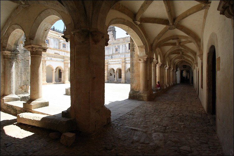 Templiers' convent in Tomar