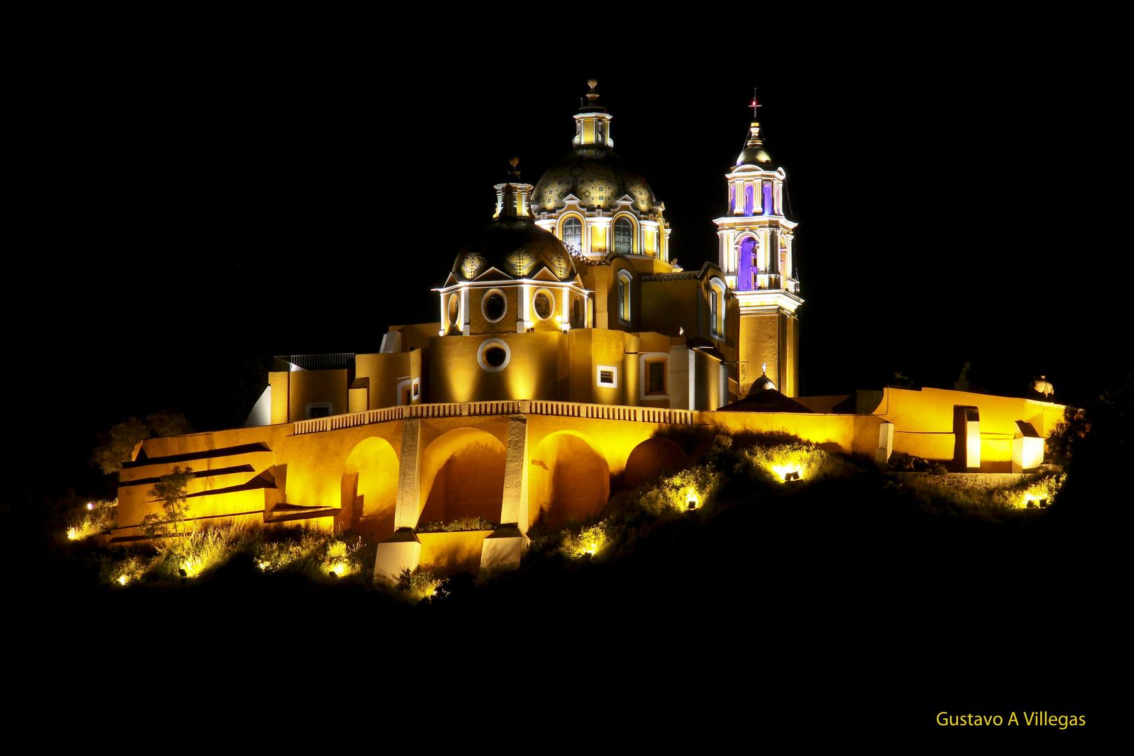 Templo de Nuestra Señora de los Remedios en Cholula, Puebla